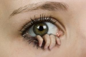 ojo y mano