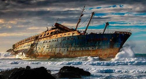 SS AMERICA, FUERTEVENTURA